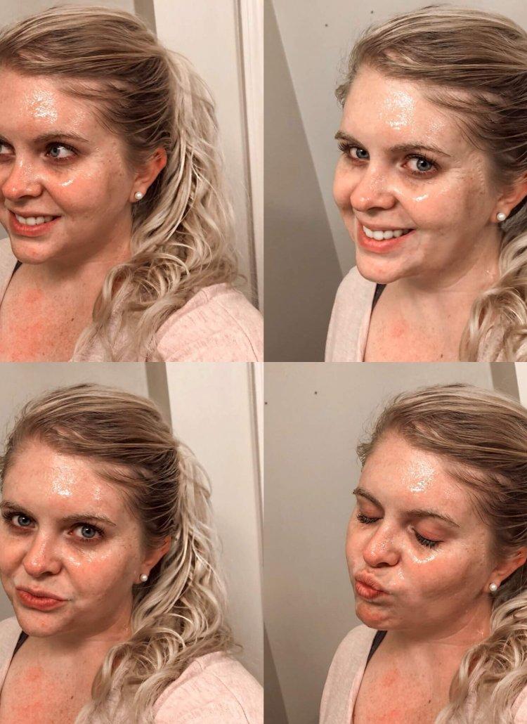 benefits of a glitter mask